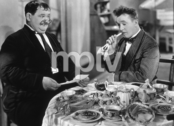 """Stan Laurel and Oliver Hardy""""Our Relations""""1936 - Image 2580_0015"""