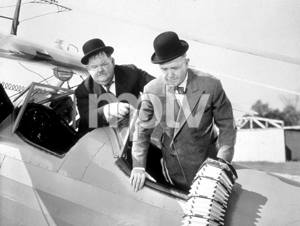 """""""The Big Noise""""Oliver Hardy, Stan Laurel1944 20th Century Fox - Image 2580_0161"""