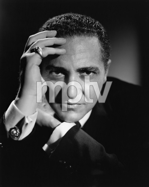 Sheldon Leonard circa 1954 Photo by Gabi Rona  - Image 2595_0005