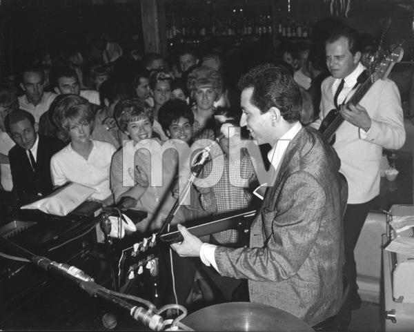 Trini Lopez Performing, c. 1964 © 1978 Chester Maydole - Image 2612_0012