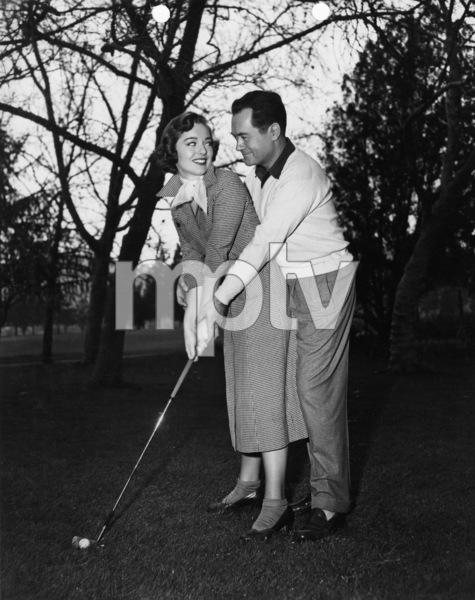 Frank Lovejoy and Joan Weldon1953 Photo by Lloyd MacLean - Image 2619_0003