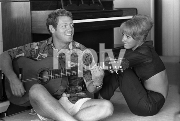 James MacArthur in Hawaii with romantic interest Melody Patterson1969 © 1978 Gene Trindl - Image 2626_0002