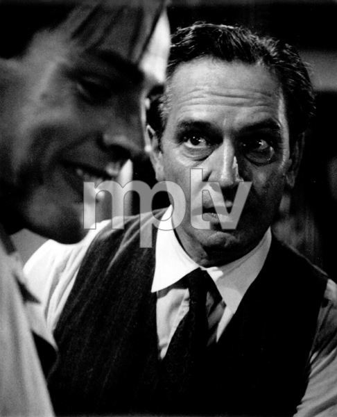 "Fredric March, Kevin McCarthyFilm Set""Death Of A Salesman"" 1951Copyright John Swope Trust / MPTV - Image 2643_0021"