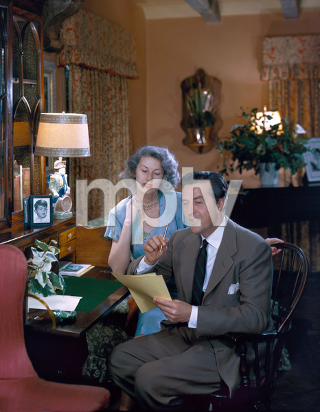 Ray Millandwith wife Malvina WebberC. 1957 © 1978 Paul Hesse - Image 2697_0025