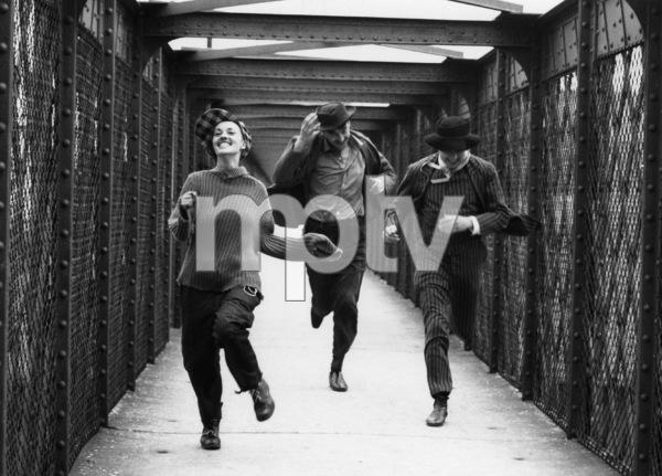 """""""Jules and Jim""""Jeanne Moreau, Henri Serre, Oskar Werner1962 Janus Films** I.V. - Image 2718_0004"""