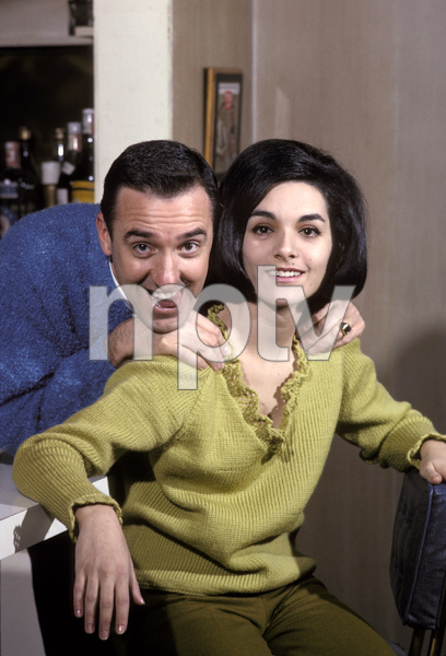 Jim Nabors and Terry Thomas1965 © 1978 Gene Trindl - Image 2737_0031