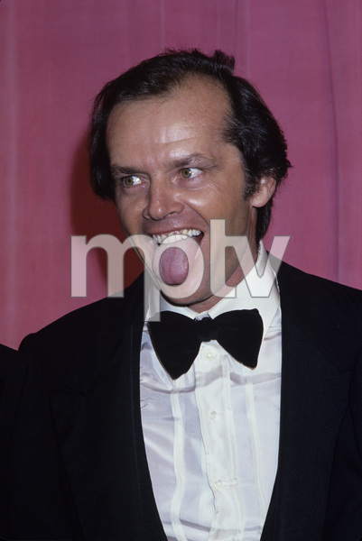 "Jack Nicholson at ""The 48th Annual Academy Awards"" 1976© 1978 Gary Lewis - Image 2754_0047"