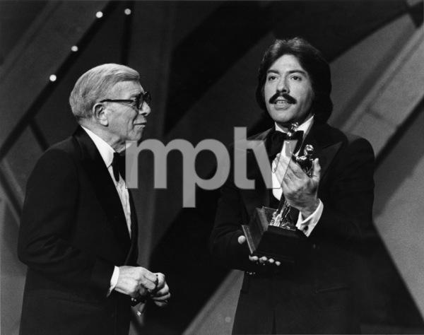 Tony Orlando and George Burns1980Photo by Gabi Rona - Image 2789_0005
