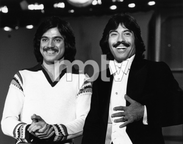 "Freddie Prinze and Tony Orlando on ""Tony Orlando and Dawn""1976Photo by Gabi Rona - Image 2789_0007"