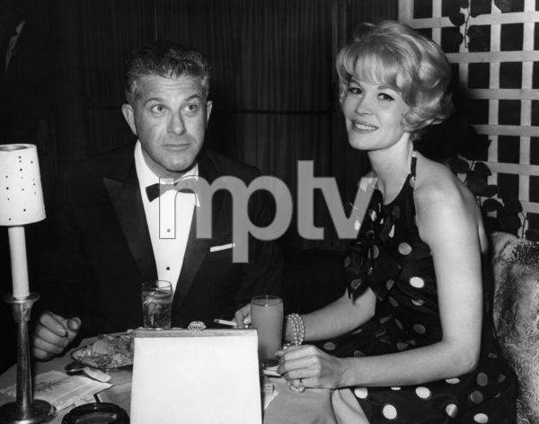 dorothy provine and joel kane at a tv dinner for ed wynn1965photo by