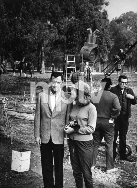 Tony Randall and Sylviane Fuchscirca 1960s © 1978 Leo Fuchs - Image 2850_0027