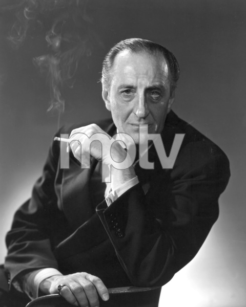 Basil Rathbone, c. 1960. © 1978 Gene Howard - Image 2853_0050