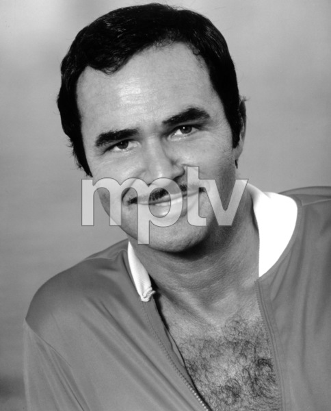 """Burt Reynolds in a publicity photo for """"Stick""""1985Photo by Greg Gorman - Image 2868_0101"""