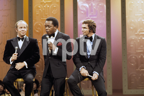 "Burt Reynolds with Tim Conway and Flip Wilson on ""The Flip Wilson Show""1972 © 1978 David Sutton - Image 2868_0147"