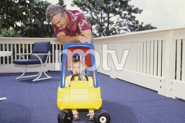 Burt Reynolds and his son, Quinton1988 © 1988 Mario Casilli - Image 2868_0185