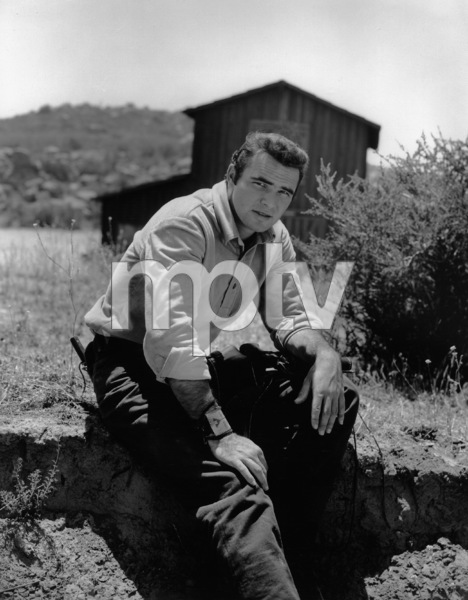 "Burt Reynolds in ""Gunsmoke""circa 1962Photo by Gabi Rona - Image 2868_0201"