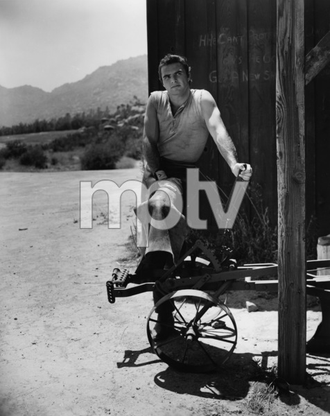"Burt Reynolds in ""Gunsmoke""circa 1962Photo by Gabi Rona - Image 2868_0215"