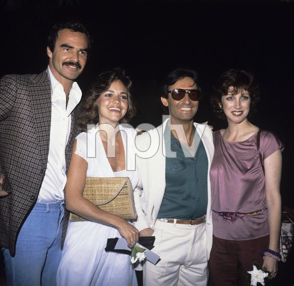 Burt Reynolds with Sally Field and Mr. and Mrs. David Steinbergcirca 1978© 1978 Gary Lewis - Image 2868_0216