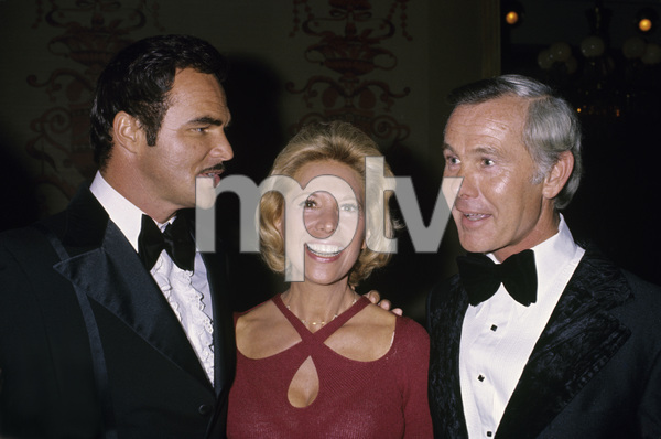 Burt Reynolds with Dinah Shore and Johnny Carsoncirca 1978© 1978 Gary Lewis - Image 2868_0231