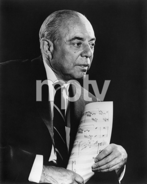 Richard Rodgerscirca 1964Photo by Gabi Rona - Image 2882_0005