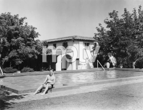 Mickey Rooney at home circa 1938** B.D.M. - Image 2889_0167