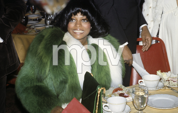 Diana Ross at the Image Awards1972 © 1978 Kim Maydole Lynch - Image 2891_0129