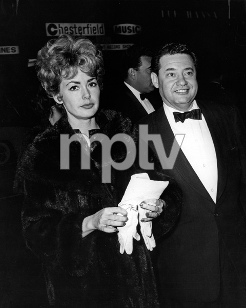"Barbara Rush and Warren Cowan at the film premiere of ""Pepe""1960Photo by Joe Shere - Image 2896_0008"