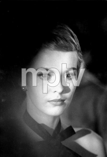 "Jean Seberg In Dior on location for ""Bonjour Tristesse""1957 © 1978 Bob Willoughby - Image 2927_0063"