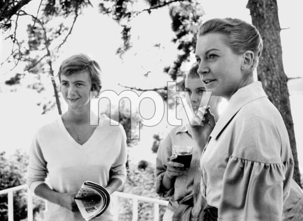 "Jean Seberg On location for the filming of ""BonjourTristesse"" 1957 © 1978 Bob Willoughby - Image 2927_0082"
