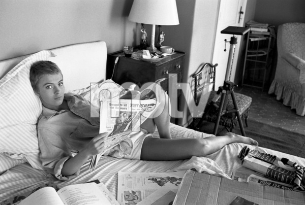 "Jean Seberg during the filming of ""Bonjour Tristesse"" 1957 © 1978 Bob Willoughby - Image 2927_0102"