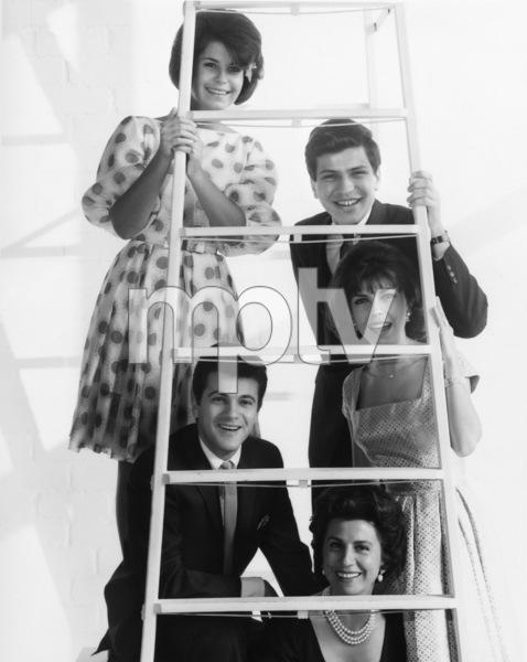 The Sinatra Family (Tina Sinatra, Frank Sinatra Jr., Nancy Sinatra Jr., Nancy Sinatra Sr., Tommy Sands)circa 1965© 1978 John Engstead - Image 2949_0001