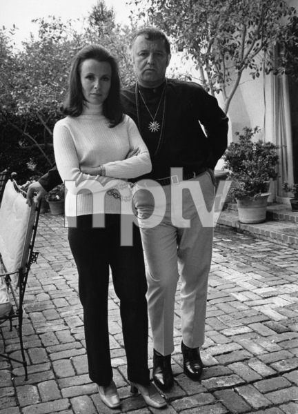 Rod Steiger and Claire Bloom 1968 © 1978 David Sutton - Image 2981_0115