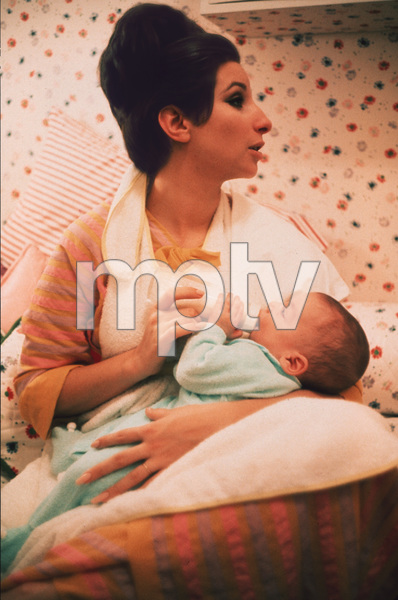Barbra StreisandAt Home in New York with and son JasonCirca 1968 © 1978 Bob Willoughby - Image 2995_0209