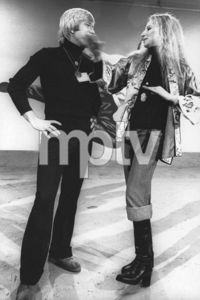 Barbra Streisand, Chuck Norris1975Photo by Ulvis Alberts - Image 2995_0248