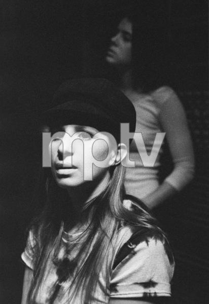 """Barbra Streisand in the studio at a recording session for the album """"Barbra Joan Streisand"""" 1971 © 1978 Ed Thrasher - Image 2995_0273"""