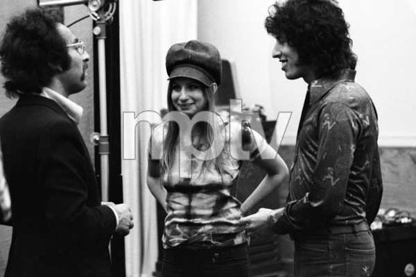Producer Richard Perry and Barbra Streisand 1971 © 1978 Ed Thrasher - Image 2995_0387