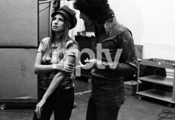 Barbra Streisand and Richard Perry 1971 © 1978 Ed Thrasher - Image 2995_0390