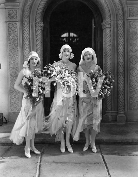 Natalie, Norma and Constance Talmadge at Constance