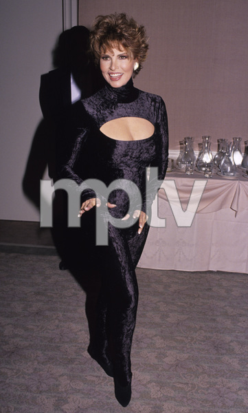"Raquel Welch at ""The 49th Annual Golden Globe Awards""1992 © 1992 Gary Lewis - Image 3084_0205"
