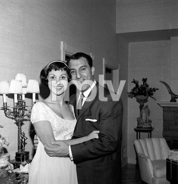 Marlo Thomas with her father Danny Thomascirca 1958 © 1978 Bernie Abramson - Image 3091_0049