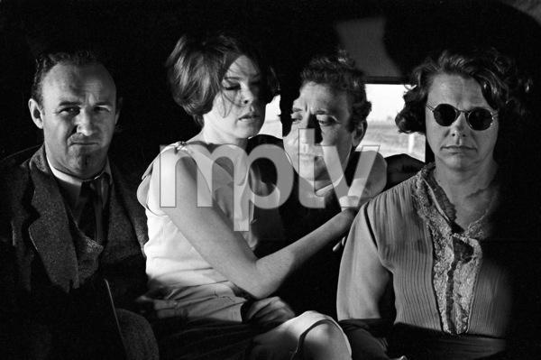"""""""Bonnie and Clyde""""Gene Hackman, Gene Wilder, Estelle Parsons1967 Warner Brothers** I.V. - Image 3100_1504"""