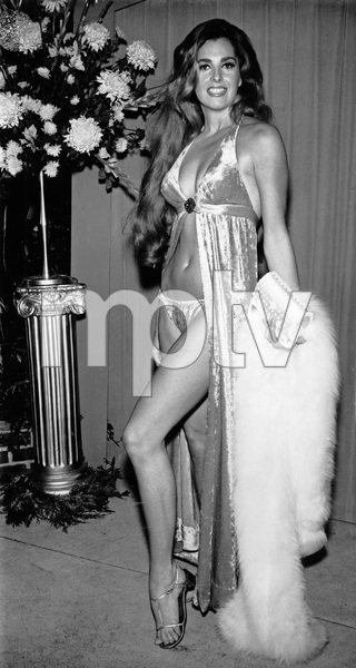 "Edy Williams at the ""Marooned"" premiere in Hollywood, CA1969 - Image 3105_0013"