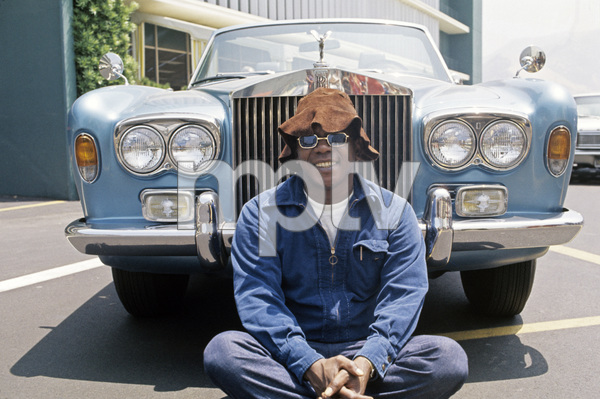 Flip Wilson in front of his 1972 Rolls Royce1972 © 1978 Bruce McBroom - Image 3111_0038