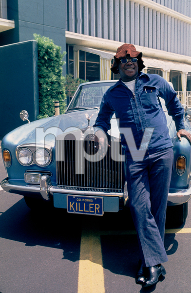 Flip Wilson and his 1972 Rolls Royce © 1978 Bruce McBroom - Image 3111_44