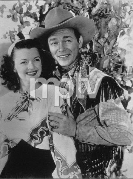 Roy Rogers and Dale EvansC. 1950