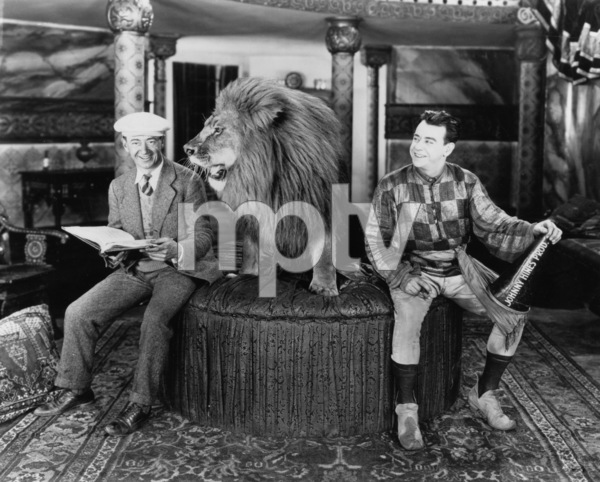 "Johnny and Charles Hines on the set of ""All Aboard""1927 First National - Image 3261_0004"