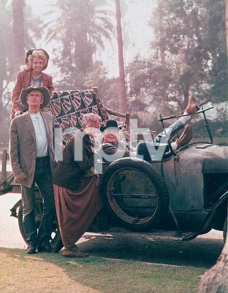 """Beverly Hillbillies,The""Buddy Ebsen,Donna Douglas,Irene Ryan,Max Baer Jr.1964 CBSPhoto By Gabi Rona - Image 3265_0053"