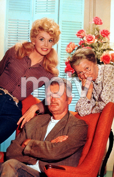 """Beverly Hillbillies, The""Donna Douglas, Buddy Ebsen, Irene Ryan1964 CBSPhoto by Gabi RonaMPTV - Image 3265_0062"