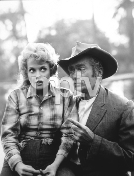 """The Beverly Hillbillies""Donna Douglas,Buddy Ebsen1964 CBSPhoto By Gabi Rona - Image 3265_0070"