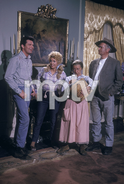 """Beverly Hillbillies, The""Max Baer Jr., Donna Douglas, Irene Ryan, Buddy Ebsen1965 © 1978 Gene Trindl - Image 3265_0091"